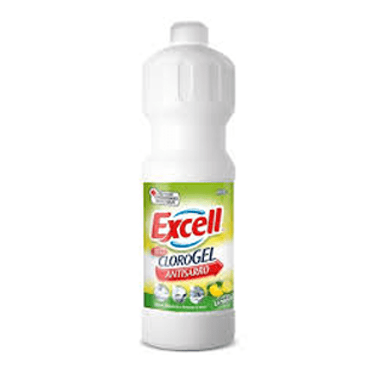 Cloro Gel Aroma Limon 900 Gs Excell