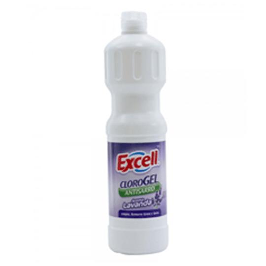 Cloro Gel Aroma Lavanda 900 Gs Excell