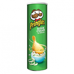 Pringles Papas Sabor Sour Cream & Onion 158 Gr