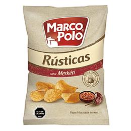 Papas Fritas Rusticas Merken 185 Gr Marco Polo