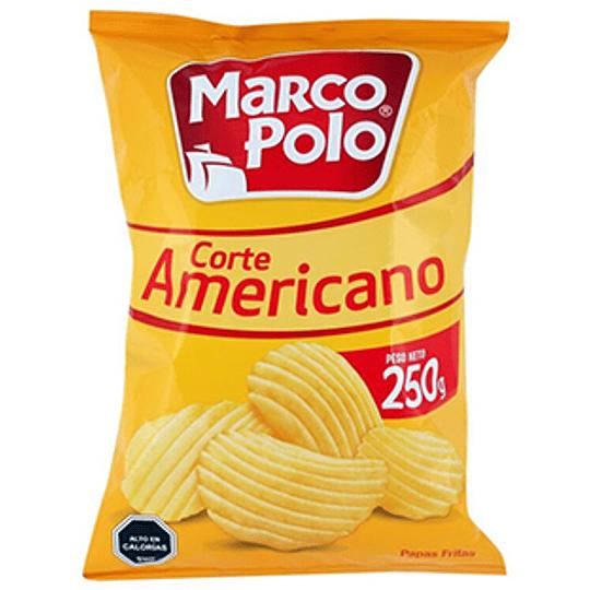 Papas Fritas Corte Americano 250 Gr Marco Polo