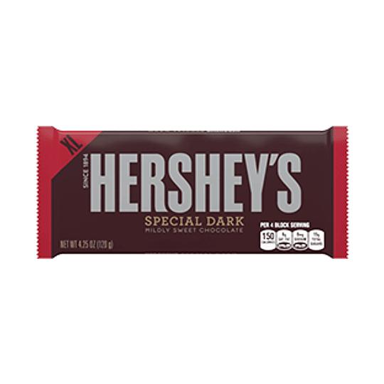 Hersheys Chocolate Special Dark XL Barra 120 Gr