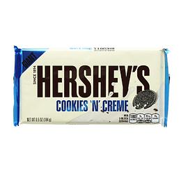 Hershey Cookies y Cream Gigante Barra 184 Gr