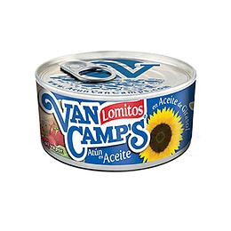 Atun Lomitos en Aceite Abre fácil 160 Gr Van Camps