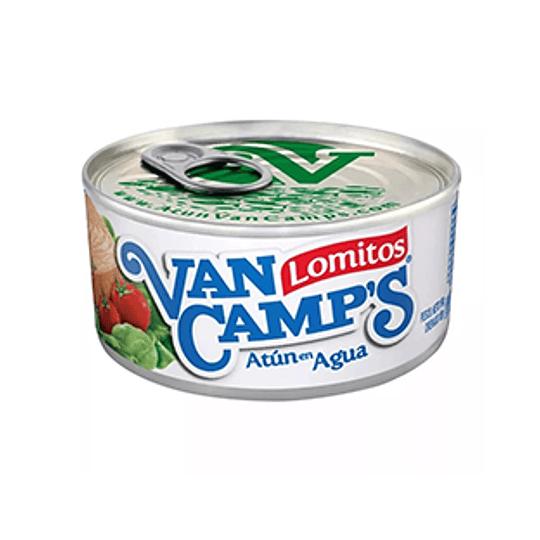 Atun Lomitos en Agua Abre fácil 160 Gr Van Camps