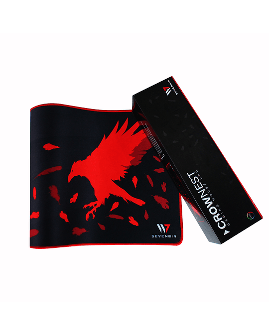 Mousepad Gamer Crow Nest Red XL
