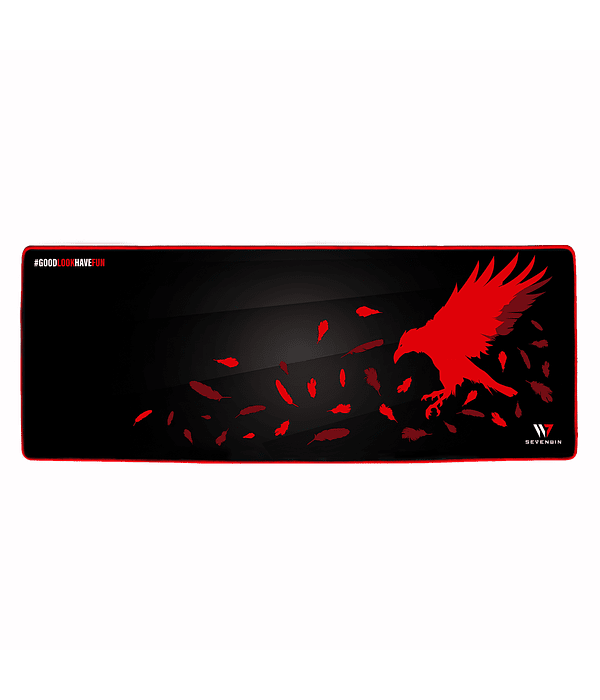 Mousepad Gamer Crow Nest Red XL v2.0