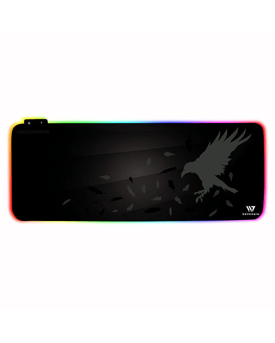 Mousepad Gamer Crow Nest RGB XL v2.0