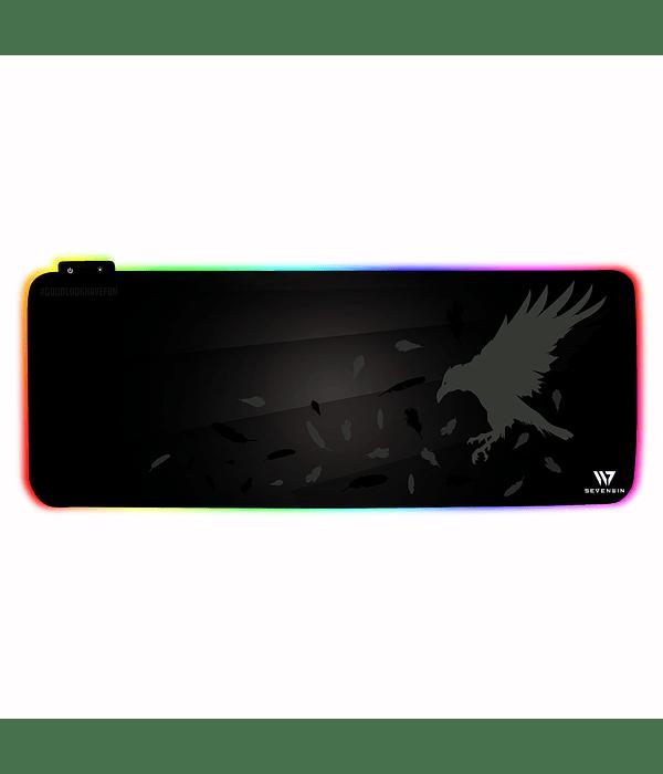 Mousepad Gamer Crow Nest RGB XL