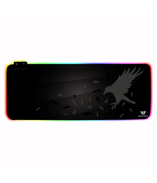 Mousepad Gamer Crow Nest RGB XL v2.0