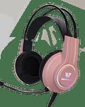Audifonos Gamer Crow Sense Pink RGB 7.1 PS4/PS5/PC