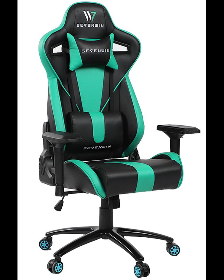 Silla Gamer Nova Turquoise Space