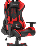 Silla Gamer Ascension Red Hell