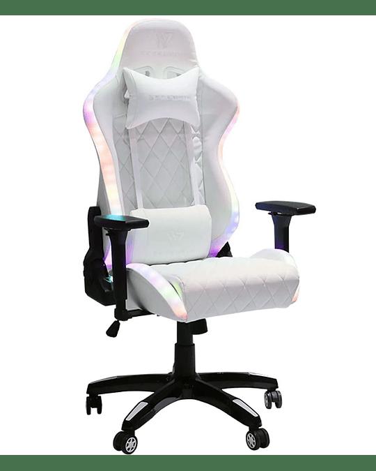 Silla Gamer Spectrum Arctic White RGB