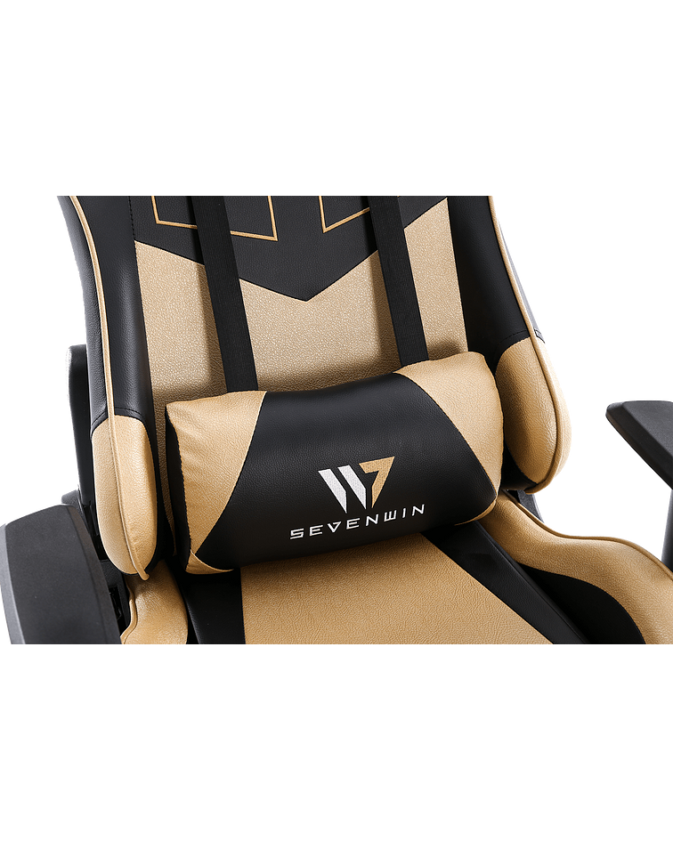 Silla Gamer Ascension Gold Throne