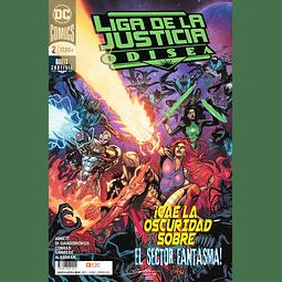 Liga de la Justicia: Odisea #2