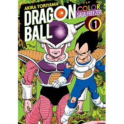 Dragon Ball Z Color - Saga Freezer Tomo #1