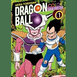 Dragon Ball Z Color - Saga Freezer Tomo #1