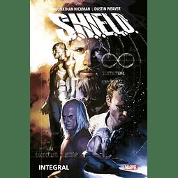 Marvel Omnibus. S.H.I.E.L.D. de Jonathan Hickman y Dustin Weaver