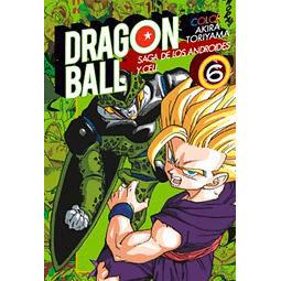 Dragon Ball Z - Saga de Cell - Tomo 6