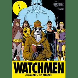 Watchmen - Edición Rústica (Black Label)