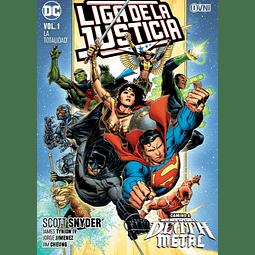 Liga de la Justicia (Snyder) vol.1: La Totalidad