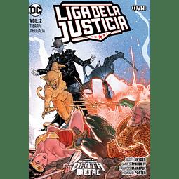 Liga de la Justicia (Snyder) vol.2: Tierra ahogada