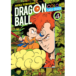 Dragon Ball Color - Saga Origen Tomo #4