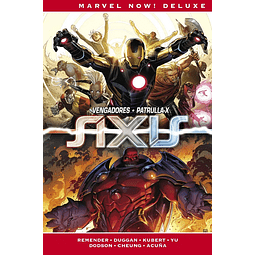 Marvel Now! Deluxe. Imposibles Vengadores #3: AXIS