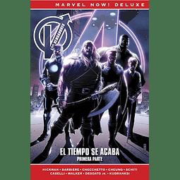 Marvel Now! Deluxe. Los Vengadores de Jonathan Hickman #8: El tiempo se acaba Primera Parte