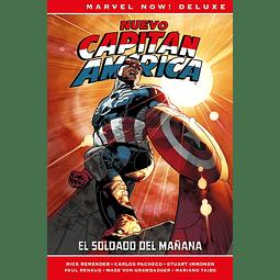Marvel Now! Deluxe. Capitán América de Rick Remender #3: El soldado del mañana