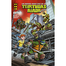 Las nuevas aventuras de las Tortugas Ninja #01