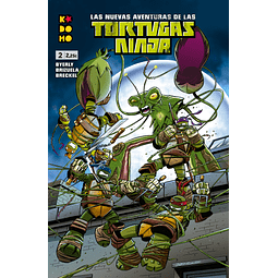 Las nuevas aventuras de las Tortugas Ninja #02