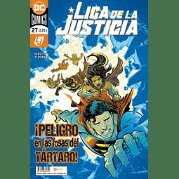 Liga de la Justicia #105 / 27