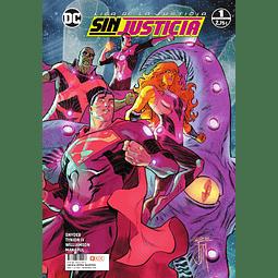 Liga de la Justicia: Sin justicia Pack (1 al 4)