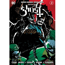 Noches Oscuras: Death Metal #2 EDICIÓN GHOST