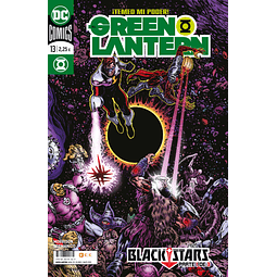 El Green Lantern: Blackstars Pack (95 al 97)