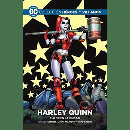 Colección Héroes y Villanos Vol.02 - HARLEY QUINN: CALOR EN LA CIUDAD