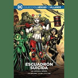 COLECCIÓN HÉROES Y VILLANOS Vol.03 - ESCUADRÓN SUICIDA: LA CÁMARA NEGRA