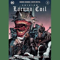 Noches Oscuras: Death Metal #3 EDICIÓN LAGUNA COIL