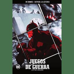 Batman, La Leyenda núm. 16: Juegos de guerra Parte 3