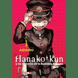 Hanako-Kun y los misterios de la Academia Kamome #01