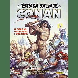 La Espada Salvaje de Conan #6: El pueblo del Círculo Negro y otros relatos