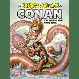 La Espada Salvaje de Conan #7: El estanque del negro y otros relatos