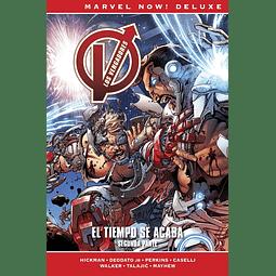 Marvel Now! Deluxe. Los Vengadores de Jonathan Hickman #9: El tiempo se acaba. Segunda parte
