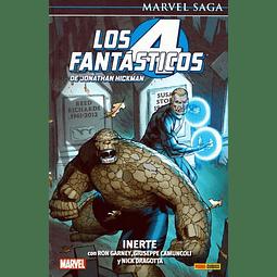Marvel Saga. Los 4 Fantásticos de Jonathan Hickman #8: Inerte