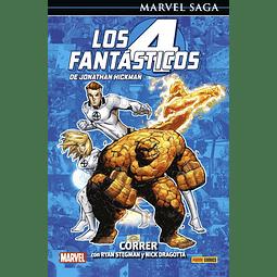 Marvel Saga. Los 4 Fantásticos de Jonathan Hickman #9: Correr