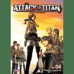 ATTACK ON TITAN - #04