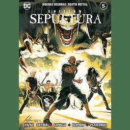 Noches Oscuras: Death Metal #5 EDICIÓN SEPULTURA
