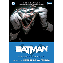 BATMAN DE SCOTT SNYDER Vol.2: MUERTE DE LA FAMILIA